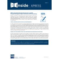 SEPA-Lastschriftmandat beim Finanzamt seit 1. Juli 2019: Einzugsermächtigung ermöglicht automatische ESt-Vorauszahlung