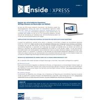 Register der wirtschaftlichen Eigentümer: Wichtige Hinweise und Neuerungen zum WiEReG