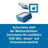 Gutscheine statt Weihnachtsfeier: Gutscheine iHv zusätzlich 365 Euro steuer- und lohnnebenkostenfrei