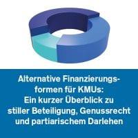 Alternative Finanzierungsformen für KMUs: Ein kurzer Überblick zu stiller Beteiligung, Genussrecht und partiarischem Darlehen